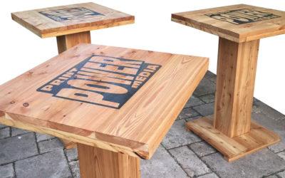 Printen op hout